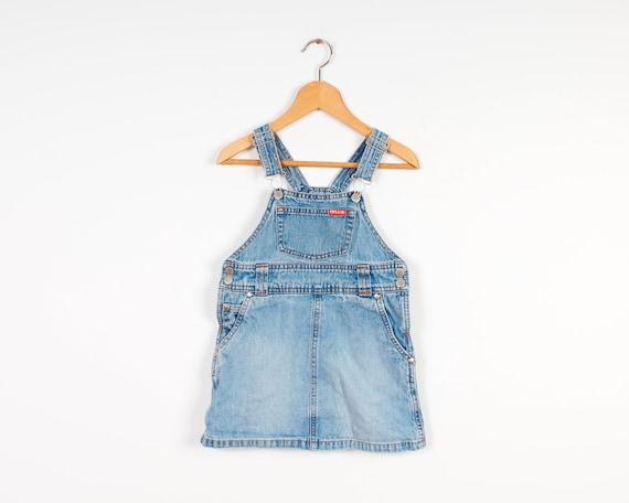 Vintage Denim Dress  Sarafan  Sun  Dresses  M  Medium  40  Jean  Romper  No sleeves  Onepiece  Skirt  Overall  Skirts  Mini