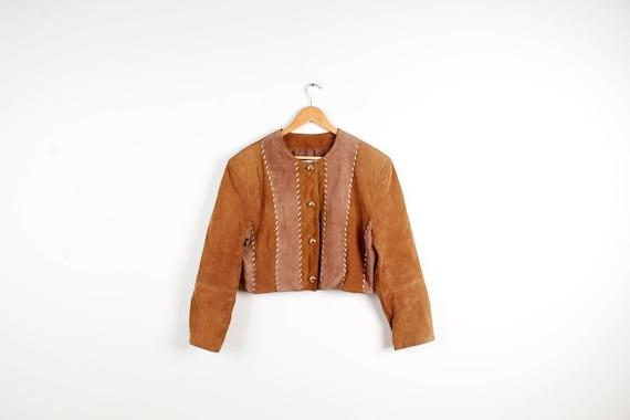 Vintage 80s Mens Jacket Removable Arms Jacket Black Vneck Jacket Brown Black Button Up Jacket Vintage Biker Style