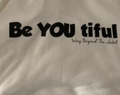Be YOU tiful  Hooded Sweatshirt customized with a Fidget Pocket by teens with Autism