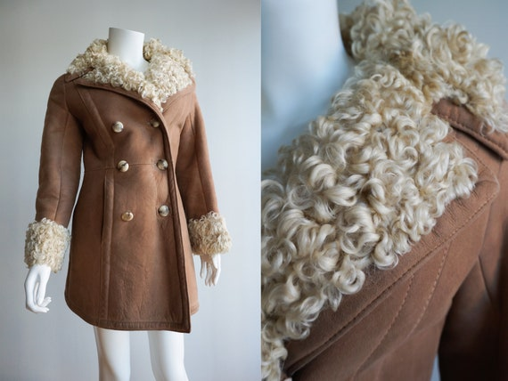 70s Curly Shearling Jacket