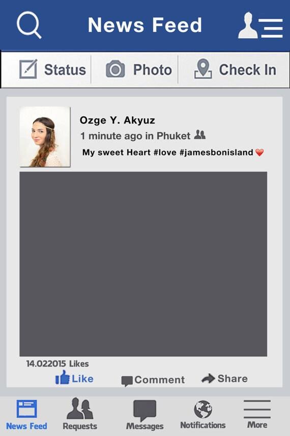 Personalisierte Facebook-Fotorahmen Prop PhotoBooth, Hochzeit, Geburtstag, Firmenveranstaltung, Baby Shower, Bridal Dusche, Photobooth Prop, Facebook