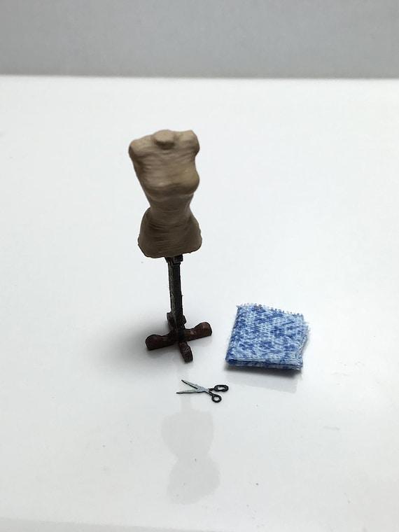 Handmade Dress Makermannequin  coin purse