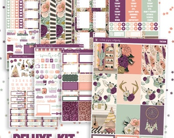 Delightful Tucson Weekly Sticker Kit, Erin Condren, Vertical, Horizontal,  Recollections, Happy Planner, White Space, Arizona, Western, Decorative