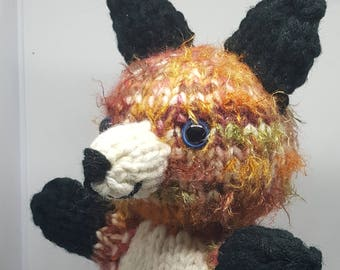 Autumn Hand Knit Fox 2