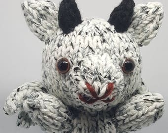 Hand Knit Gargoyle 2