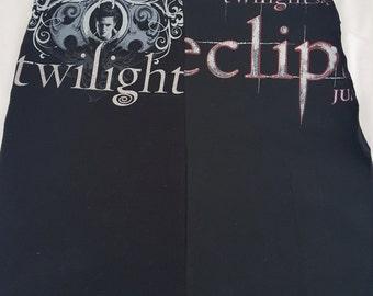 Twilight Eclipse Edrward upcycled skirt