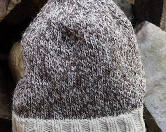 Kat's Patterns: Tweed Sheep  PDF Easy Knit  Hat Pattern