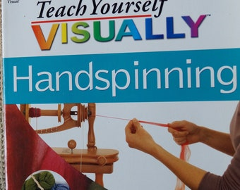 Teach Yourself Visually Handspinning free shipping offer sale price