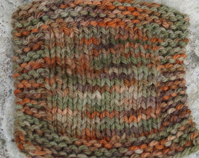 Autumn Colors hand dyed 3 ply worsted weight soft wool yarn from our small American farm, Free Shipping