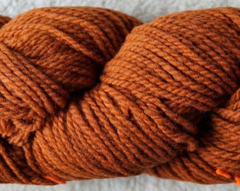 Wattlebark bulky 2 ply soft wool yarn from our American farm, free shipping