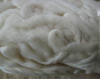 Northern Lights undyed bare merino wool roving, sale price