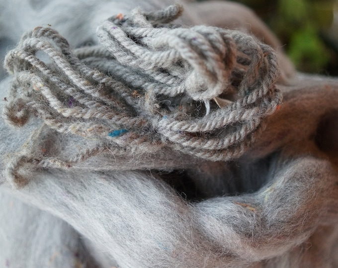 Gray noil wool roving sale price