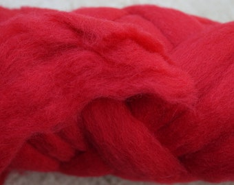 Corriedale wool top for spinning or felting, from Ashford, NZ