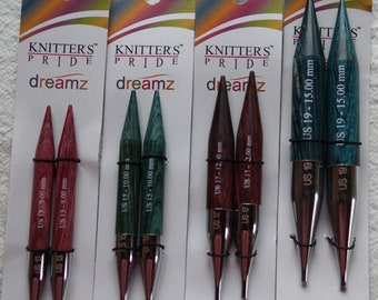 KP Dreamz chunky wood needle tips free shipping offer