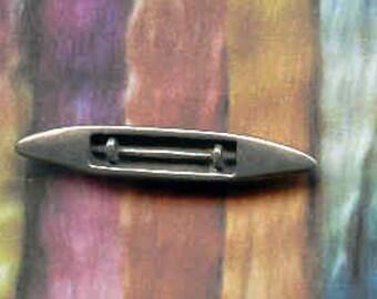 Pin: Boat Shuttle pewter clutch pin