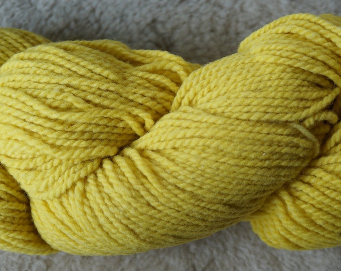 Buttercup bulky soft wol 2 ply yarn from our American farm, free shipping
