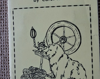 Putting On the Dog by Carol Kroll how to spin dog or cat fur into yarn