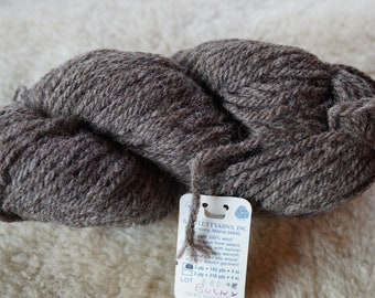 Bulky Dark Sheeps Gray wool 3 ply Bartlettyarn sale