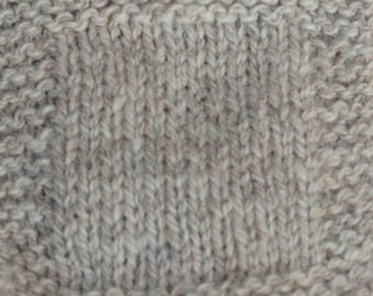 Light Gray Sheep farm raised yarn 2 ply sport weight soft  bare wool yarn undyed skein