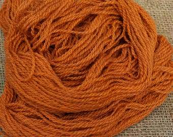 sport weight yarn: Autumn Sport weight 2 ply American wool yarn from USA local farm
