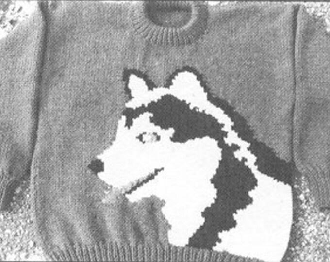 eweCanknit The Husky  knitting pattern kids, youth and adult sizes