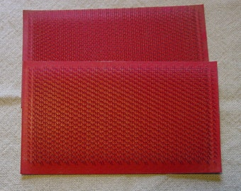 Hand carder replacement pads set from Ashford