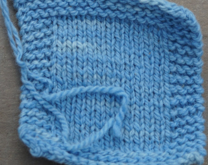 Blue Sky worsted kettle dyed 2 ply soft wool yarn 230 yd skein from our American farm, free shipping