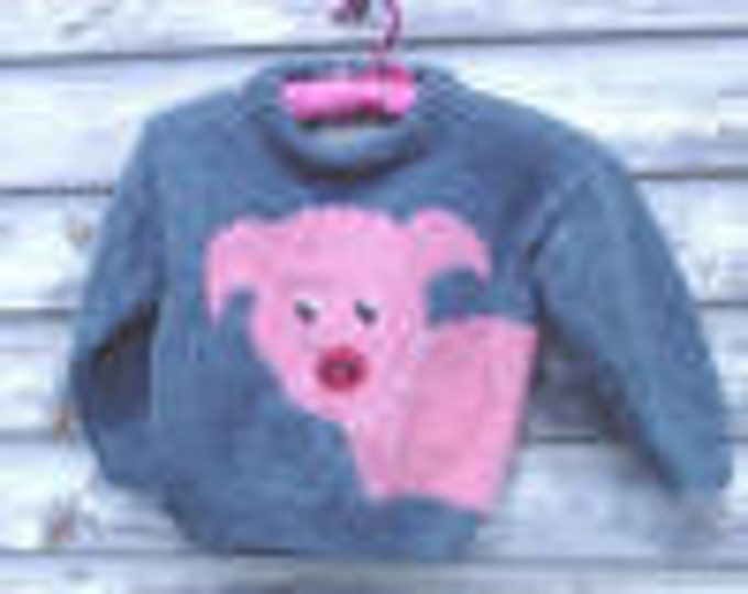 eweCanknit Pattern 022  Little Piggy digital