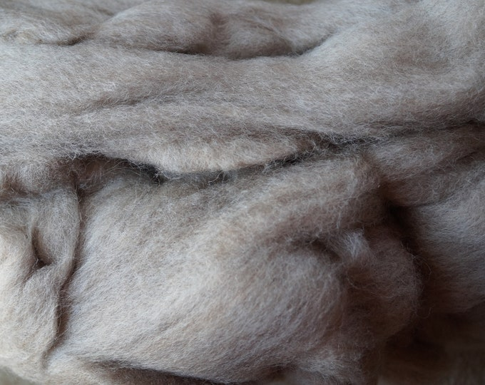 Coopworth wool roving for spinning or felting