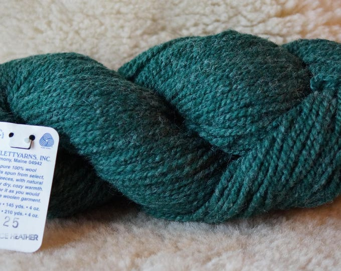 SPRUCE HEATHER 2 ply worsted weight wool from Bartlettyarns sale price
