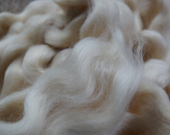 Lincoln wool top, natural white, 8 oz bag
