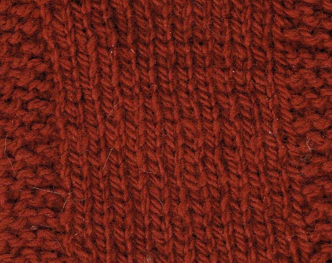 Garnet  2 ply hand dyed size 4 worsted weight soft wool yarn from our USA farm Free shipping