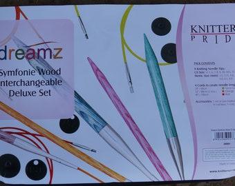 Dreamz Symfonie deluxe interchangeable wood circular needle set free shipping