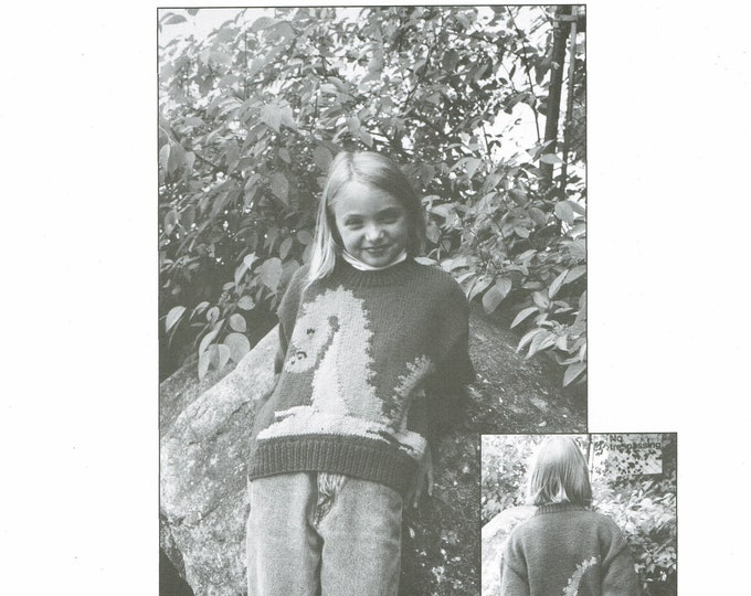 Slither the Serpent knit pattern from eweCanknit childs sizes 2-10