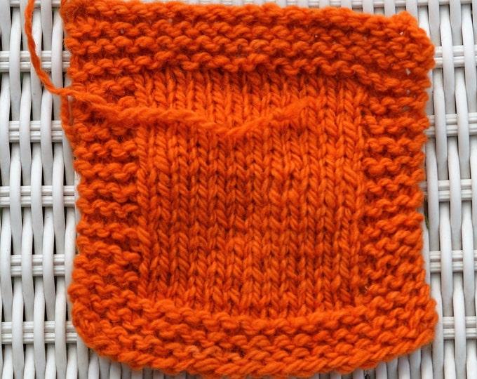 Madder 2 ply worsted wool yarn 230 yds per skein