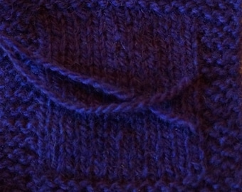 sport weight yarn: MULBERRY 2 ply sport weight kettle dyed wool yarn from our farm