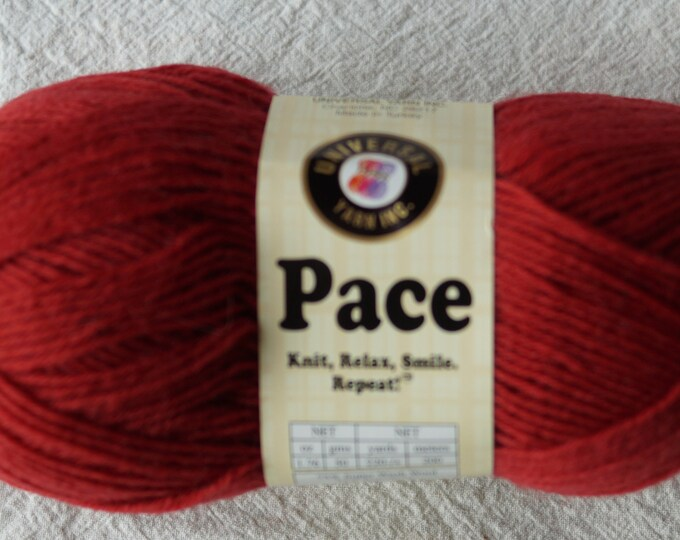sock yarn Pace Red sale fingering weight machine washable Universal Yarn