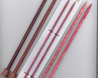 Dreamz KP 10 inch wood knitting needles assorted sizes available, free shipping offer, sale prices