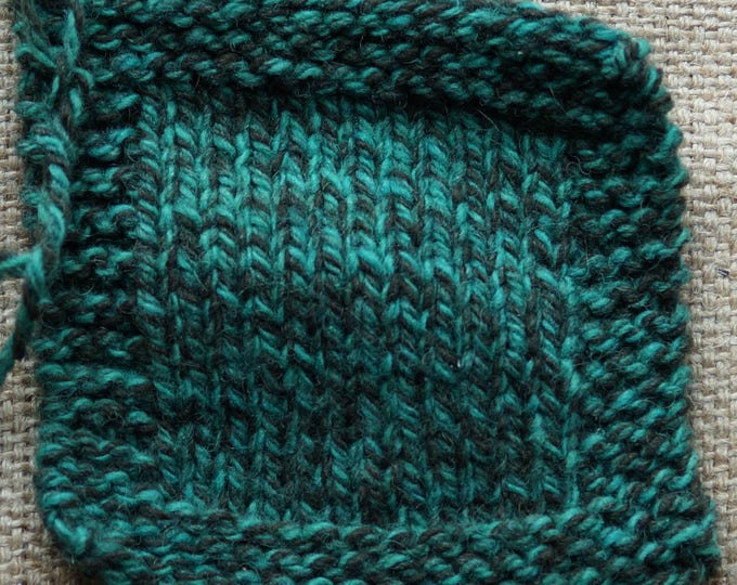 Jade Tweed 3 ply worsted weight kettle dyed soft wool yarn from our American farm, free shipping
