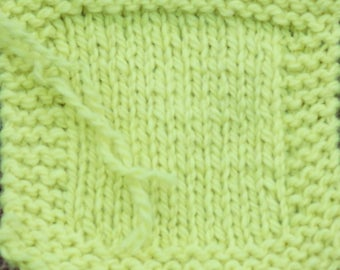 Neon Yellow farm raised yarn 2 ply Kettle Dyed wool worsted weight yarn from our farm