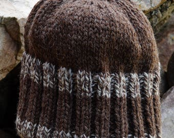 Reversable Heavy Weight Hat pattern using worsted yarn digital