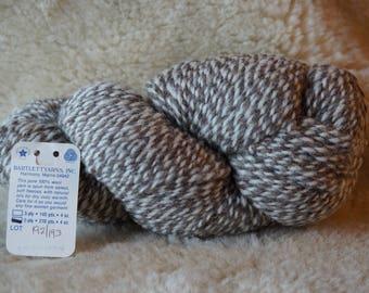 GRAY & DENIM 2 ply marl worsted weight yarn from Bartlettyarn sale