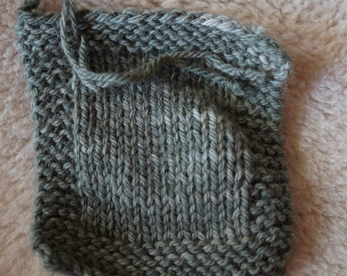 Olive Drab 3 ply worsted soft wool farm yarn from our American farm free shipping offer