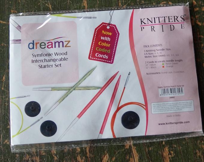 Dreamz starter set interchangeable circular needles free shipping offer  wood