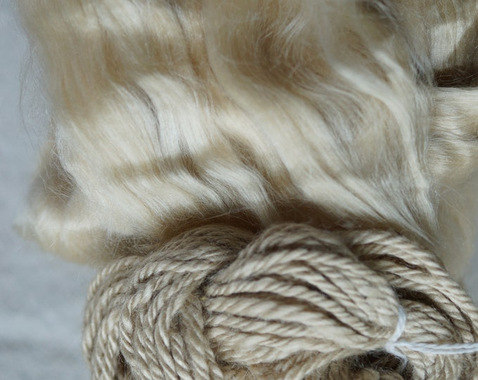 Tussah silk sliver sold by the ounce free shipping offer