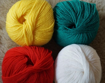 Baby wool super wash sport weight merino wool yarn free shipping offer
