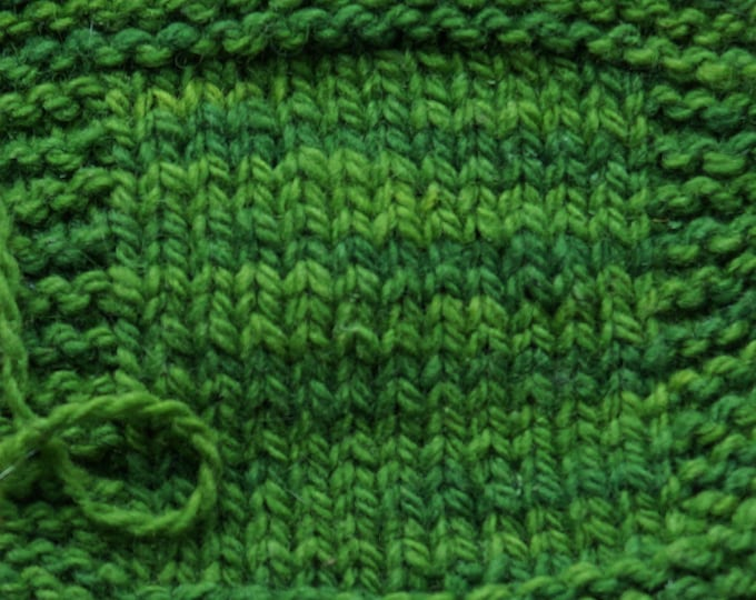 Shaded Pine 2 ply worsted weight soft kettle dyed wool yarn from our American farm, free shipping offer NY fiber farm