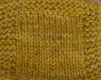 MUSTARD sport weight 2 ply wool USA farm yarn, free shipping offer