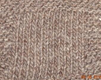 worsted weight yarn: Light Gray Sheep Worsted 3 ply Wool Yarn