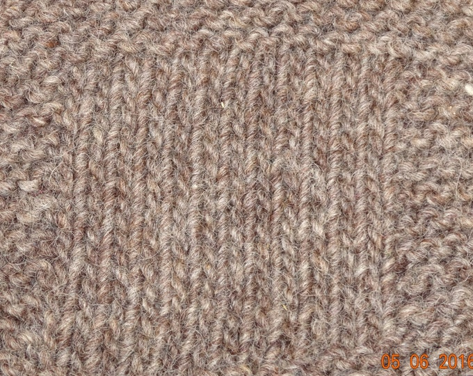 worsted weight yarn: Light Gray Sheep Worsted 3 ply Wool Yarn